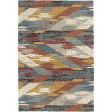 dynamic rugs mehari distressed chevron multi 8 ft x 11 ft indoor area rug