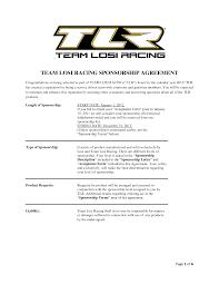 sponsorship agreement sponsorship agreement template phone list template