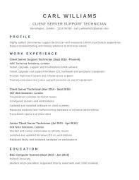 Cv Template Examples Uk 1 Cv Template Cv Template Uk Resume