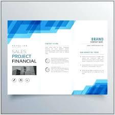 Business Template Creative Brochure Template Tri Fold Folder