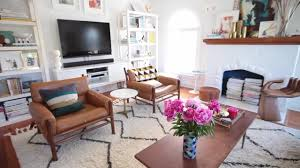 What Size Rug For Living Room Tips To Choosing The Right Rug Size Emily Henderson