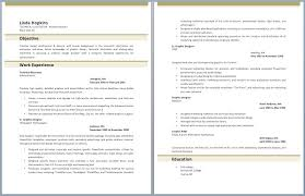 Two Page Resume Fresh Two Page Resume Sample Pour Eux Com
