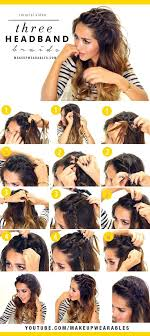 Everyday Hairstyles 83 Awesome 24 Easy Headband Braids Cute Halfup Hairstyles For Everyday