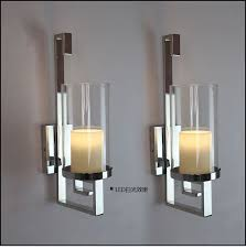 contemporary candle wall sconces contemporary wall candle sconces cool glass wall sconce candle
