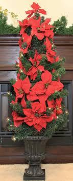 Poinsettia Christmas Tree Lights Uk