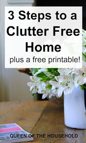 place happy clutter free