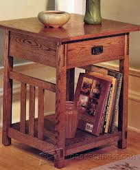 arts crafts end table plans