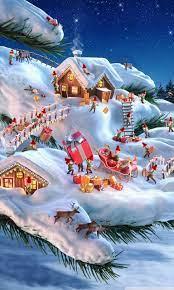 Santa and his Elves Ultra HD Desktop ...