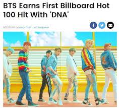 Bts Billboard Chart Bts Achieves Dream Of Entering Billboard Hot 100 Chart