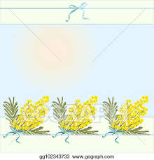 Spring Flower Template Vector Illustration Spring Floral Abstract Template Background