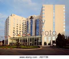 Sofia The Hilton Hotel Sofia capitol city center Bulgaria Europe glass ...