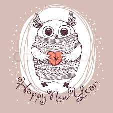 Image result for happy new year illustration