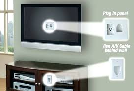 hide cords on wall how to hide wires for wall mounted wall mount hide wires fireplace