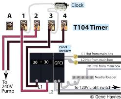 how to wire intermatic t104 and t103 and t101 timers larger image t 104 timer 240volt pool control center