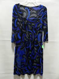 Iz Byer California Dress Size Chart Cute Iz Byer Blue Black Sparkly Dress Sz L