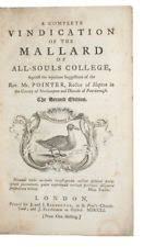 Image result for hunting the mallard all souls college