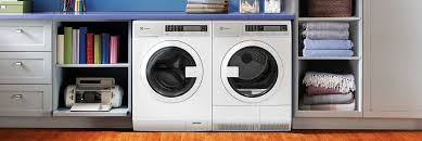 electrolux stackable washer and dryer. compact washer with iq-touch® controls featuring perfect steam™ - 2.4 cu. ft. eifls20qsw electrolux appliances stackable and dryer i