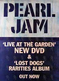 pearl jam live at the garden dvd lost dogs al
