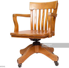 pine office chair. Pine Office Chair. Wood Swivel Chair : Stock Photo I