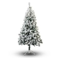 20 best flocked christmas trees by size