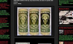 1 ドル 札 宇宙 人