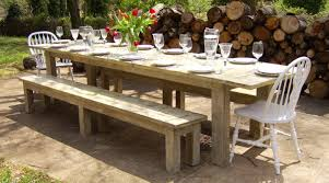 Large Farmhouse Kitchen Table Picnic Kitchen Table Marvelous Ideas Bench Style Dining Table