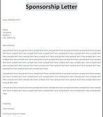 Proposal Letter For Sponsorship Sample For Event Sample Event Sponsorship Proposal Letter Sponsor Example
