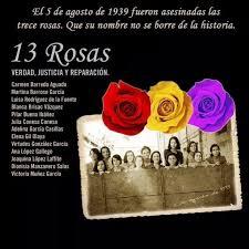 Resultado de imagen de las trece rosas
