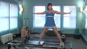 pilates reformer standing lower body exercises