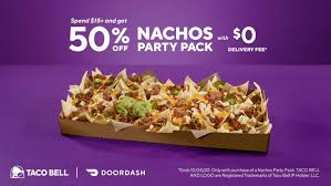 © 2021 taco bell corp, all rights reserved. Taco Bell Expands Delivery With Doordash To 5 500 Locations Qsr Magazine