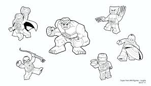Marvel Super Heroes Coloring Pages Uticureinfo