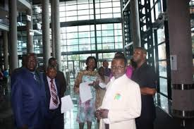 Gallery - Category: Republic of Congo delegation visit the NLSA ...