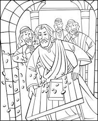 Small Picture Free Sunday School Coloring Pages Jesus Cleansing the Temple