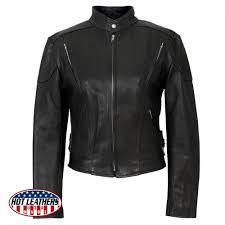 hot leathers usa made las vented leather jacket
