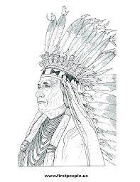Native American Coloring Sheets Free Native Coloring Sheets Native
