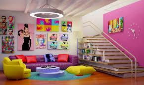Pop Art Design Ideas Pop Art Interior 2 By Ultrarender Deviantart Com On