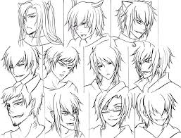 It's common to express a character's personality through their physical features, and the hairstyle is an important part of it. Anime Boy Hairstyles Long Hair Page 1 Line 17qq Com