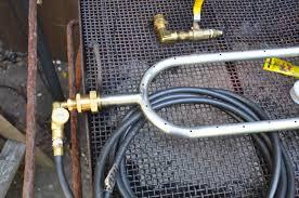 propane bbq hook up hose