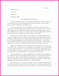 autobiography essay example madrat co autobiography essay example