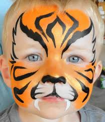 tiger face painting best 25 tiger face paints ideas on