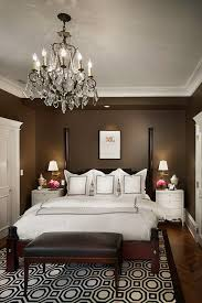 Small Picture Dark Brown Theme and Elegant Bed Furniture Sets in Small Master