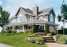 two story country house plans wrap around porch fresh ranch style homes with wrap around porches
