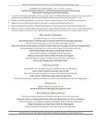 Emt Resume Example Awesome 10 Perfect Emt Resume Cover Letter