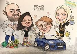 foode caricature