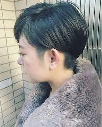 黒髪 ショートボブ 小顔 アッシュnanuk二子玉川 Uekinanuk 271474