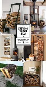a ling fire indoor firewood storage ideas