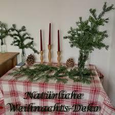 Romantischeslandleben Natürliche Weihnachts Deko Mit