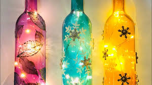 Decorative Bottle Lights Diy Bottle Art Quick And Easy Decorated Light Up Bottles
