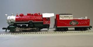 lionel santas flyer lionel santas flyer steam locomotive train engine tender polar 6