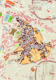 tourist map of siena • mapsofnet